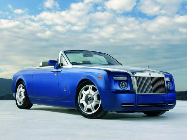 All information about Rolls-Royce Phantom Drophead convertible that you can
